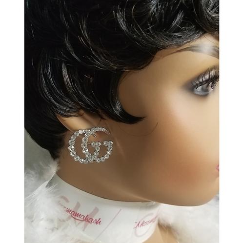 Letter Luxury Earrings