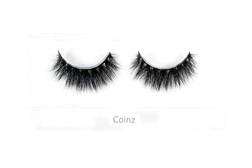 """Coinz"" 3D 100% Mink Lashes"