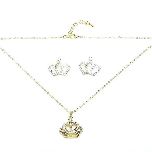 Crown Me Set in Gold