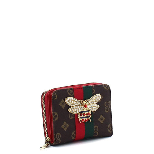 Bee a Queen Collection 3 (Red)Card Wallet