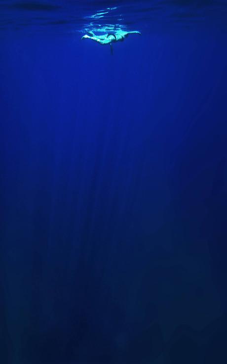 Baignade en mer Méditarranée