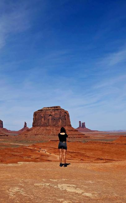 Artist Point Overlook - Monument Valley