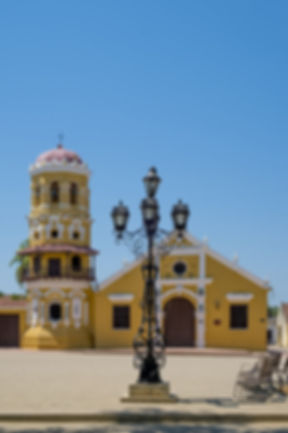 Le plus bel hotel de mompox, portal de la marquesa au bord de la rivière.