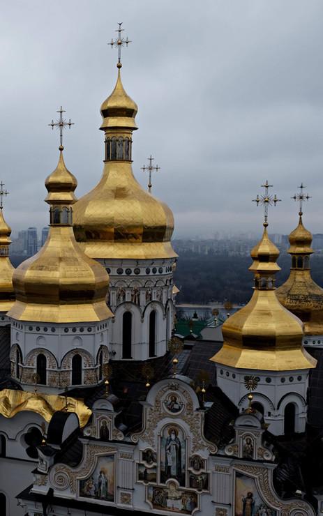 Visite de la laure des grottes de kiev