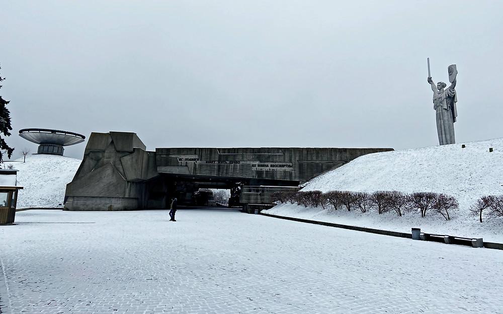 Architecture soviétique de Kiev
