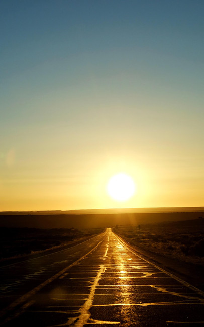 Sur la route de Monument Valley