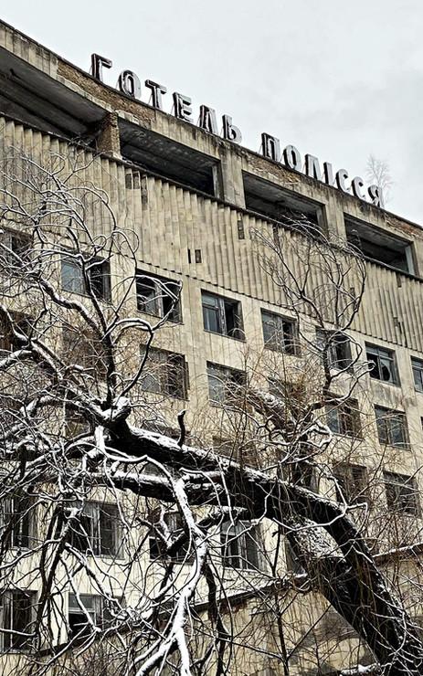 Hôtel abandonné de Pripyat