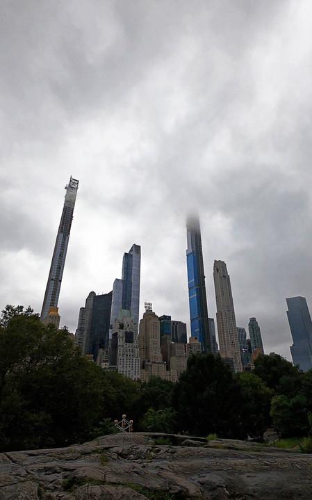 Gratte-ciels de Central Park