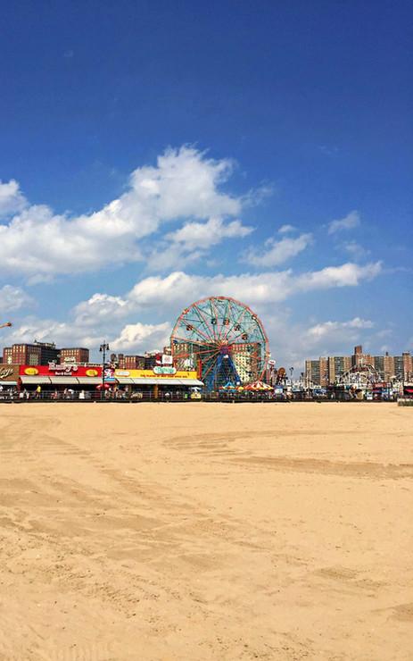 Plage de Coney Island