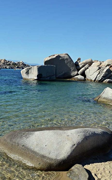 Une journée sur les îles Lavezzi
