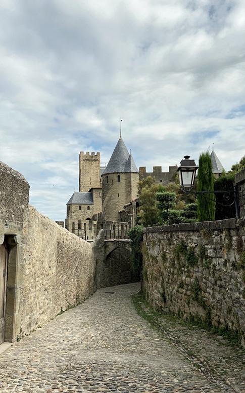Les ruelles de Carcassonne