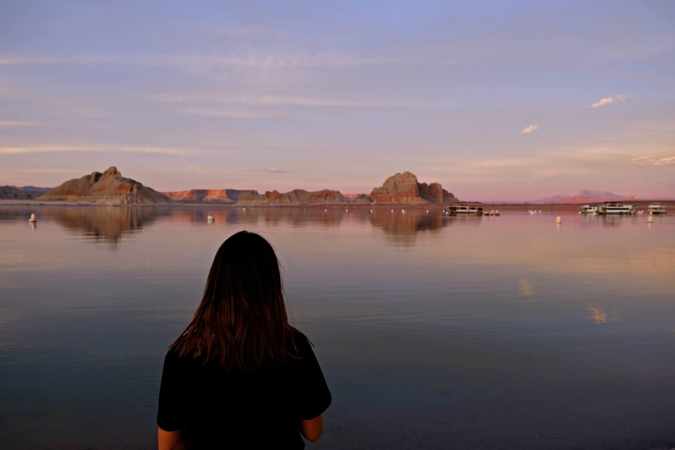 Campgroung Lake Powell