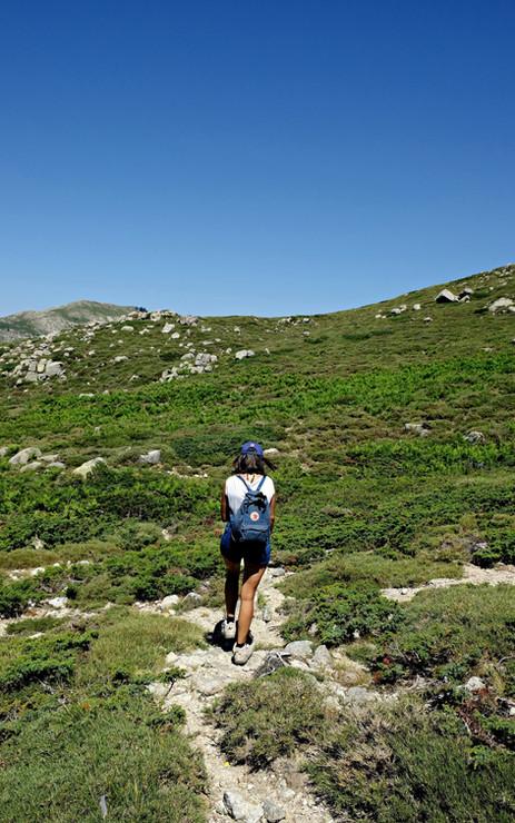 Randonnée sur le Plateau du Coscione