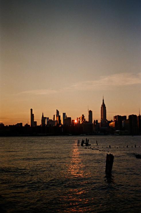 Vue depuis l'East River park