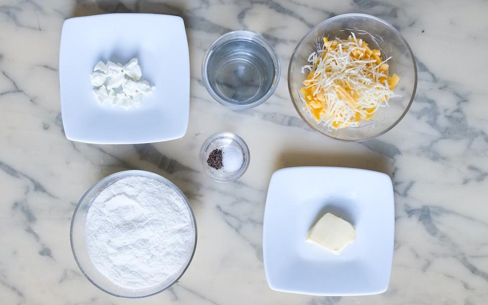 Ingrédients pour Arepas