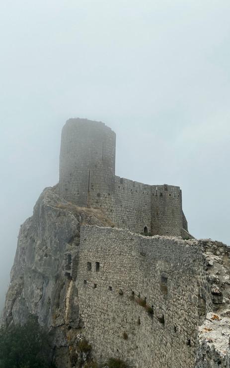 La tour du château de Peyrepertuse