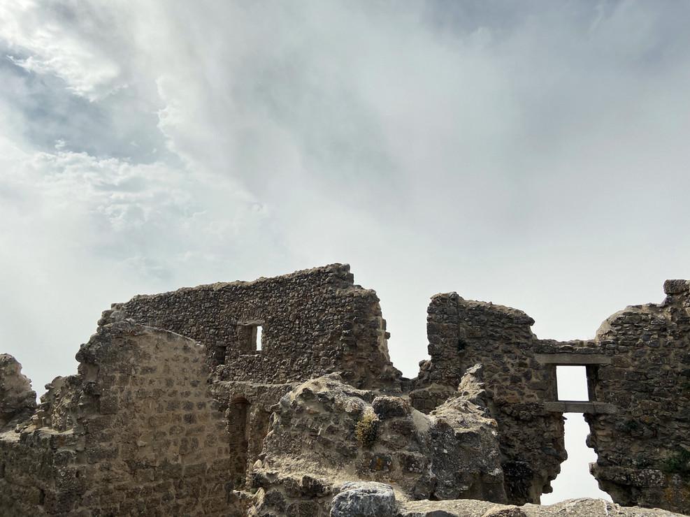 Ruines de châteaux Cathare