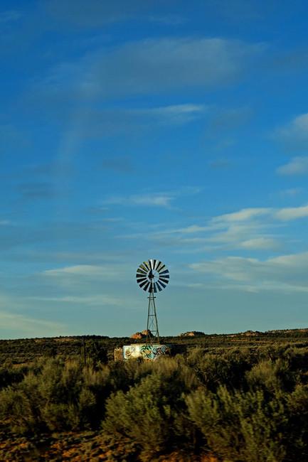 Sur la route de Antelope Canyon