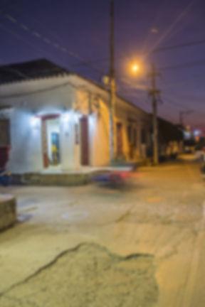 Hôtel en plein centre de Mompox.