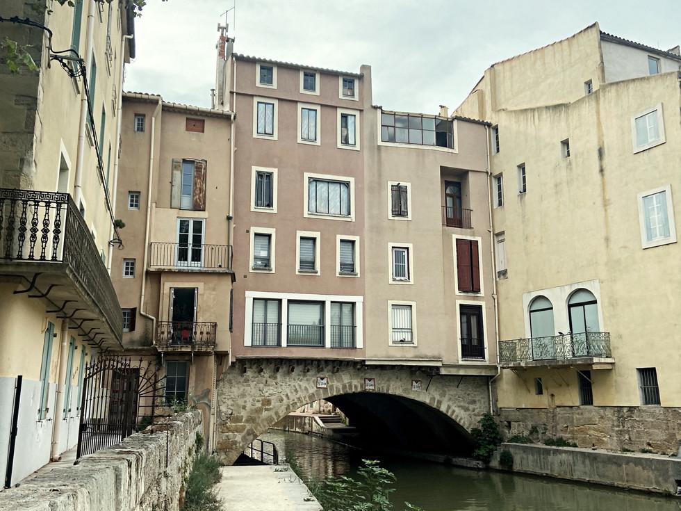 Le pont des marchands de Narbonne