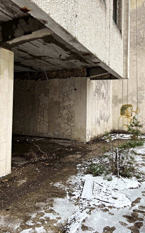 Immeuble abandonné à Pripyat