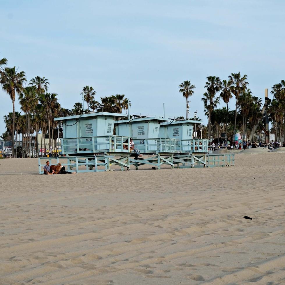 Plage - Venice Beach - LA