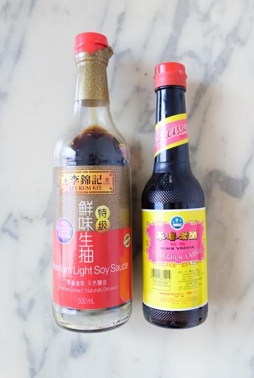 Ingrédients pour la sauce à Banh Bao