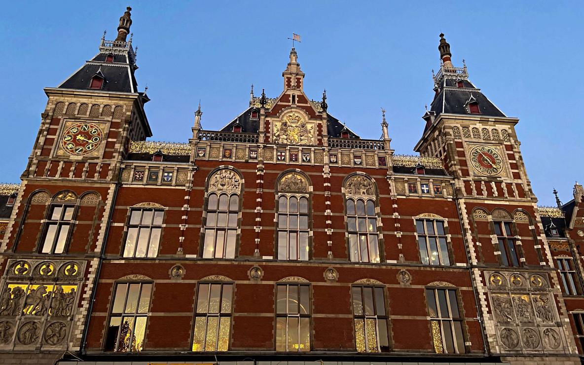 Se rendre à Amsterdam
