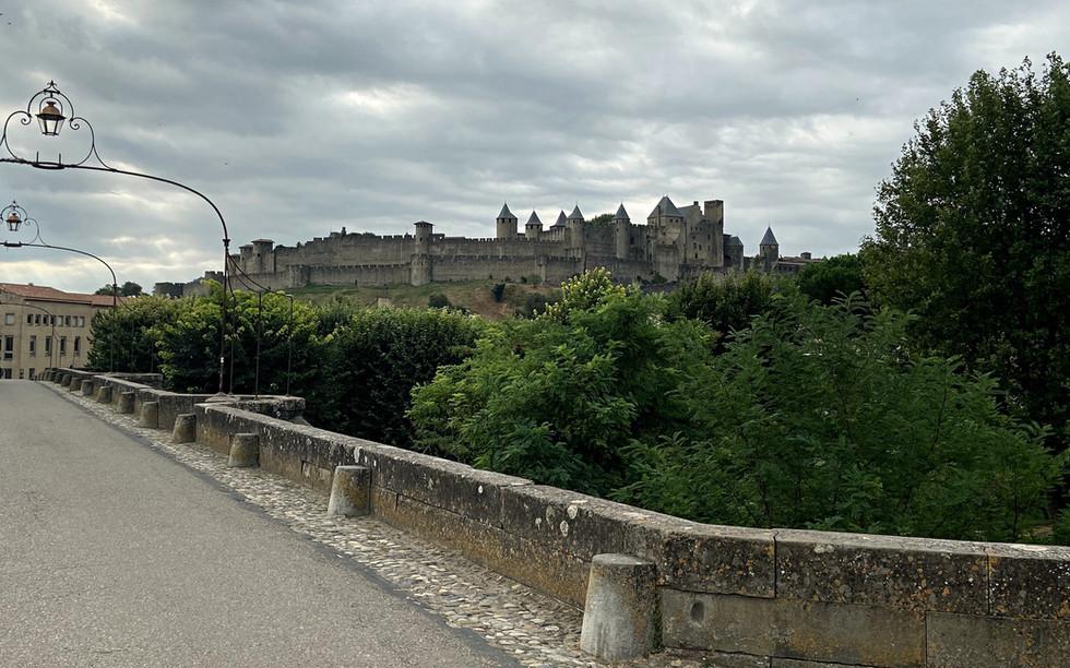 Vue sur la Cité de Carcassonne