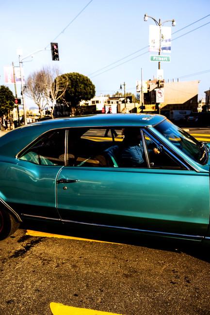 Los Angeles en voiture
