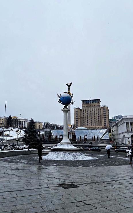 Place Maïdan à Kiev