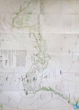 Carte général du Grand Canyon - South Rim