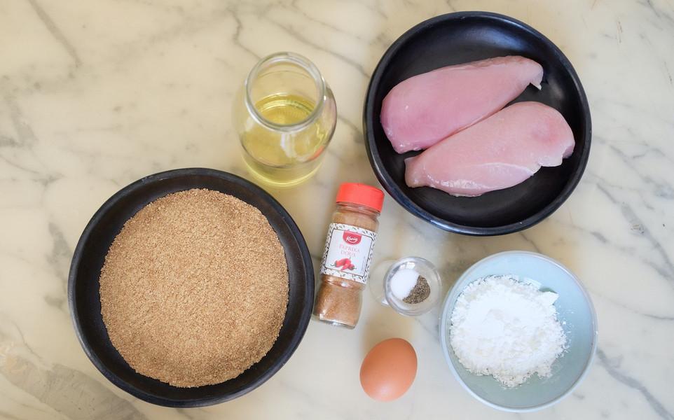 Ingrédient pour le poulet