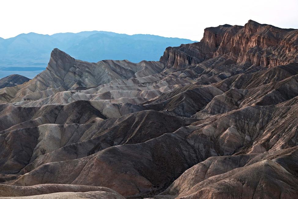 Randonnée dans le Death Valley