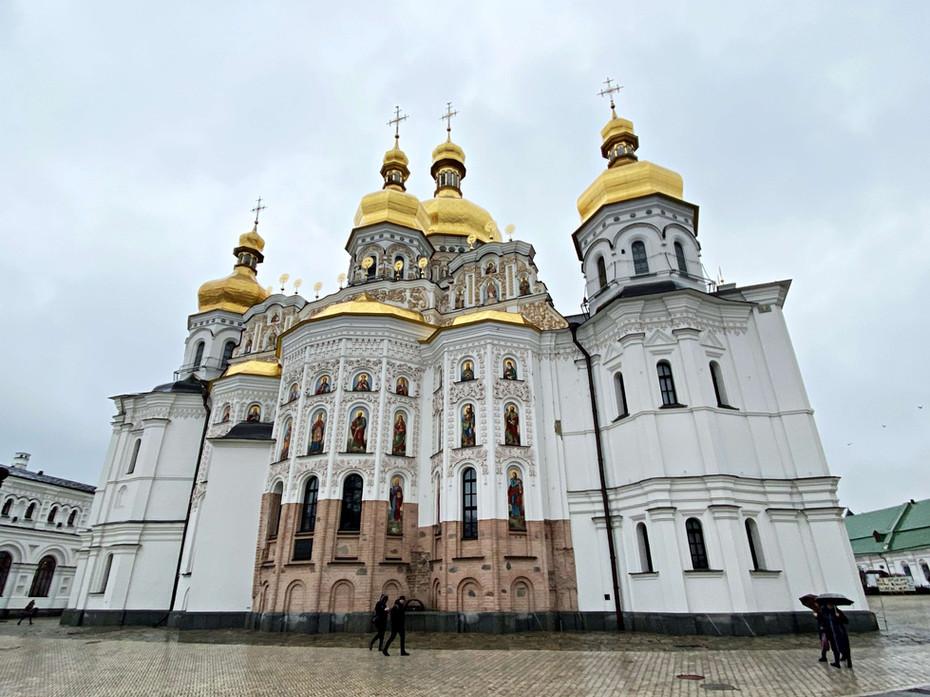 Visite du monastère de Pechersk Lavra