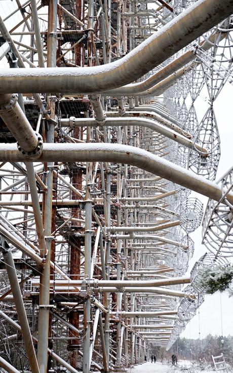 Le radar Duga de Tchernobyl