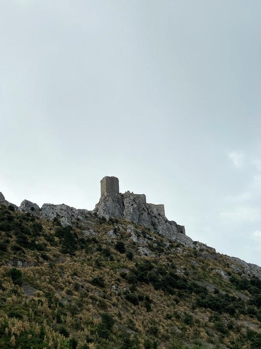 Queribus, Château Cathare