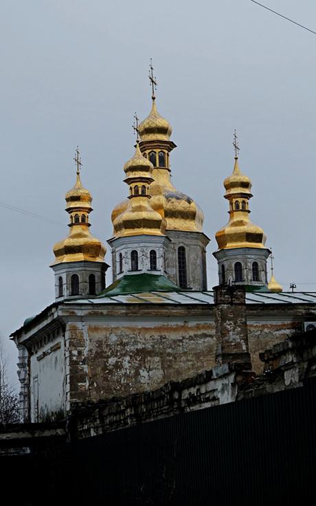 Visite des monastères orthodoxes de Kiev