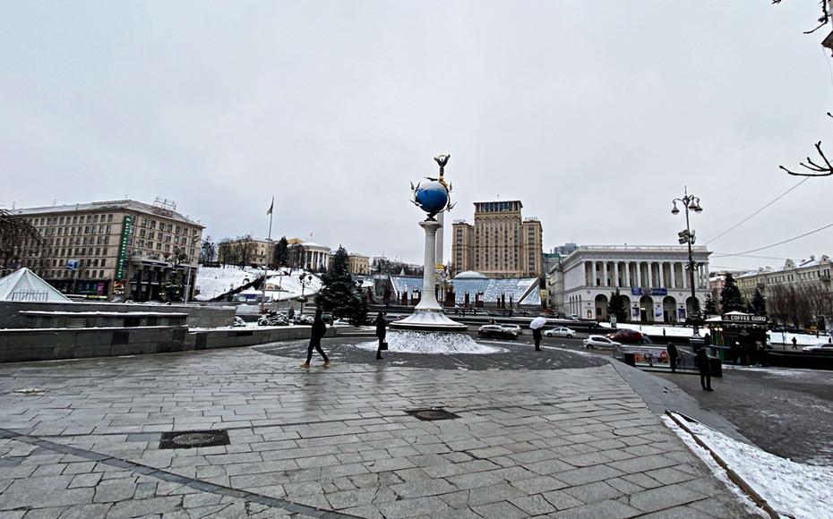 place de l'indépendance - Maïdan Nezalejnosti