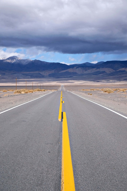 Entrée dans la Death Valley