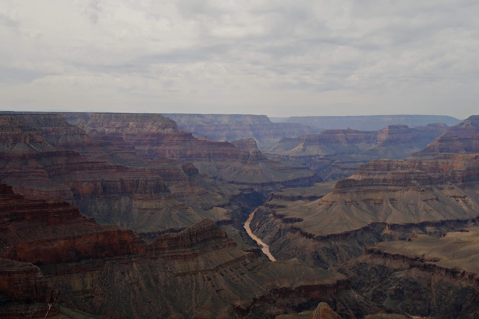Grand Canyon - Hermits Rest - Hopi Point