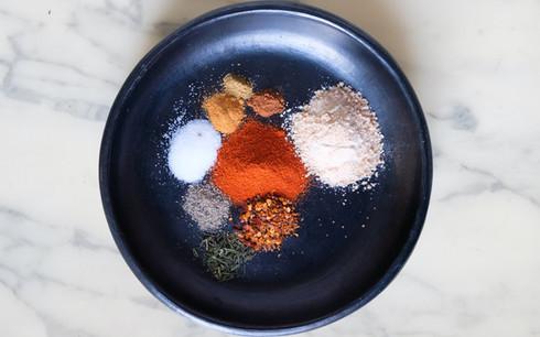 Epices pour le mélange Dry Rub