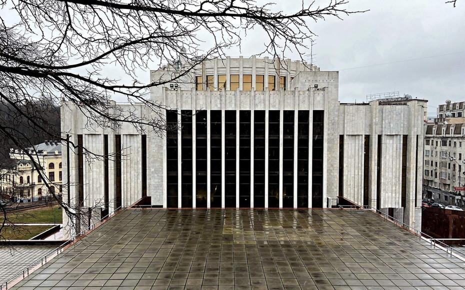 Balade à Pecherskyi