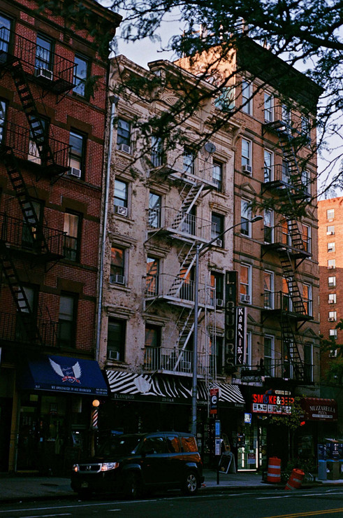 Promenade dans East Village