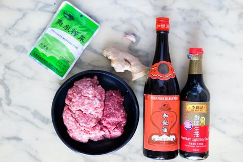 Ingrédients pour la viande