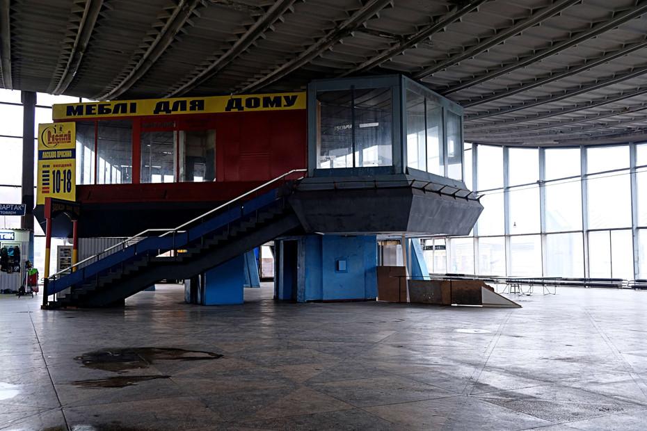 Architecture soviétique à Kiev