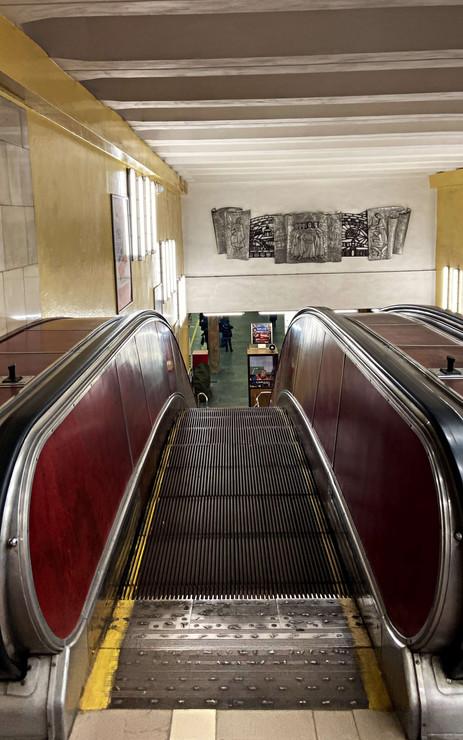 Architecture métro à Kiev