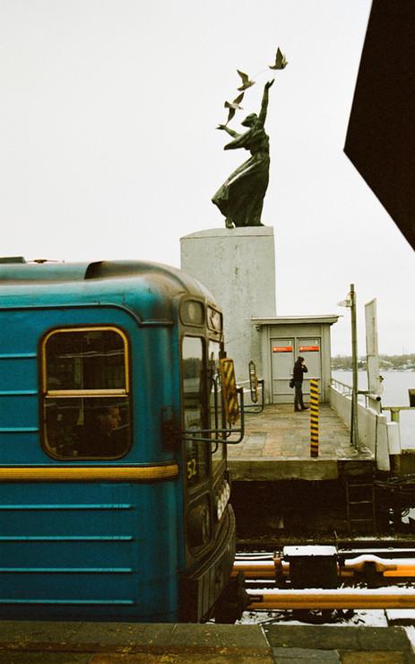 Le métro à Kiev
