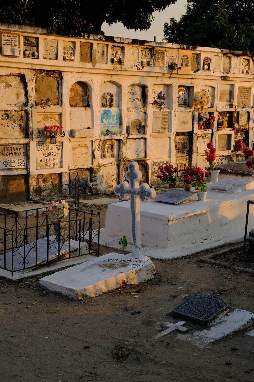 Le joli cimetière de Mompós