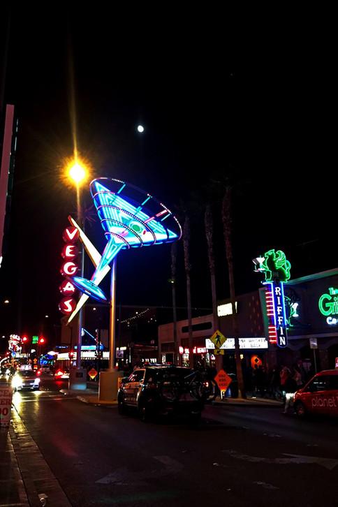 Fremont St à Downtown Las Vegas